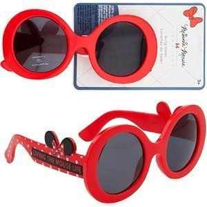 """Minnie Mouse""""Living the Mouse Life"""" RED Sunglasses"""